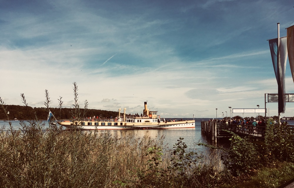 Raddampfer Chiemsee